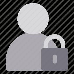 account, data, login, private, security icon