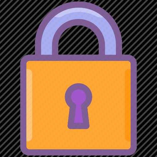 account, key, lock, login, private icon
