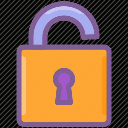 lock, login, password, security, unlock icon