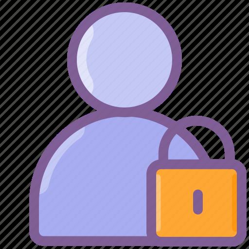 account, lock, login, password, user icon