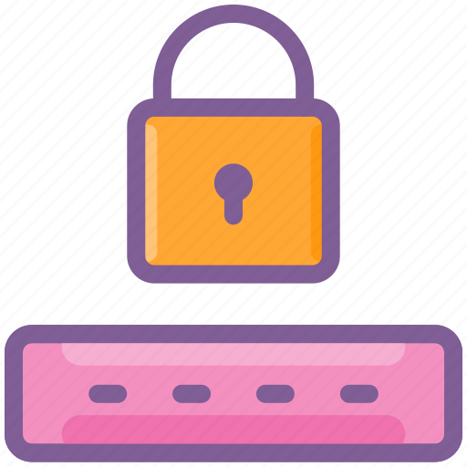 hidden, key, lock, login, password icon
