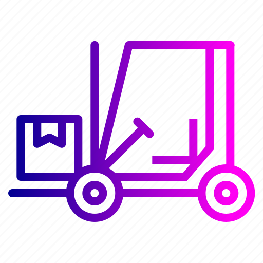 Boxes, delivery, forklift, logistic, luggage, parcel, shipping icon - Download on Iconfinder