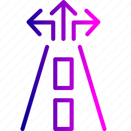 destination, guide, map, marker, navigation, road, sign icon