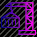 container, crain, export, lift, logistic, parcel, transport