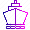 boat, container, deleivery, logistic, parcel, ship, transportation