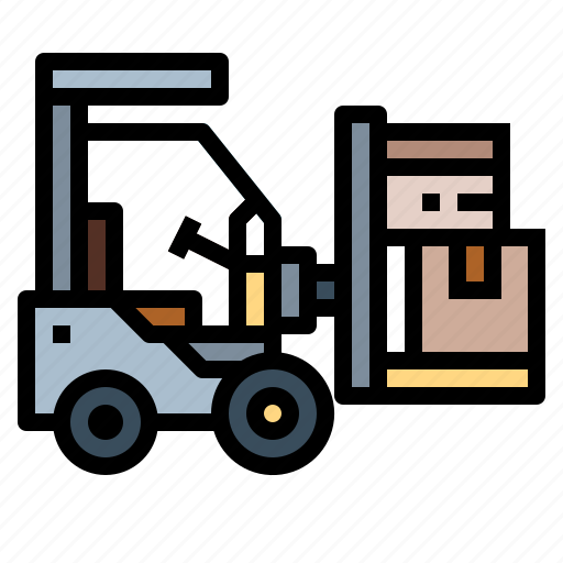 forklift, industrial, transport, truck icon