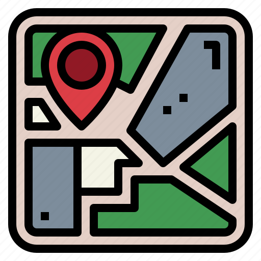 Gps, location, map, pin icon - Download on Iconfinder