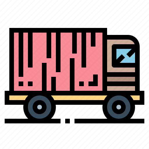 Delivery, logistics, transport, truck icon - Download on Iconfinder