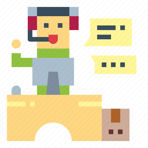 Asking, call, center, customer, help, service icon - Download on Iconfinder