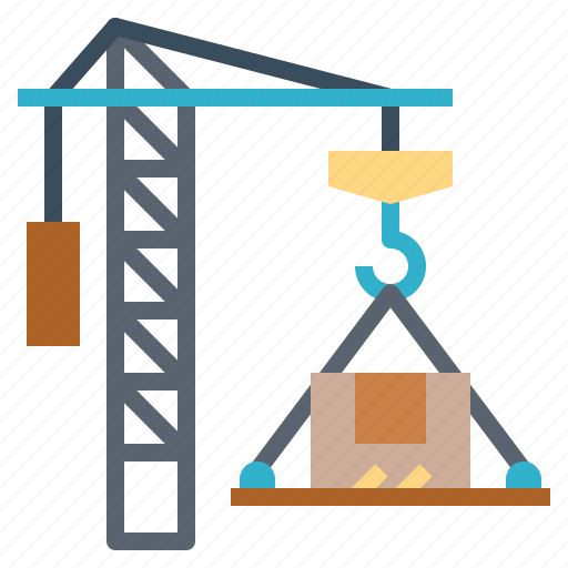 Cargo, crane, logistics, shipping icon - Download on Iconfinder