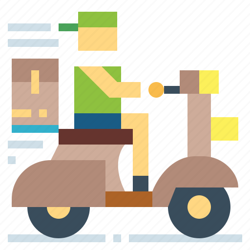 delivery, fast, logistics, transport icon
