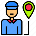 cargo, delivery, freight, industry, shipping, stock, storage icon