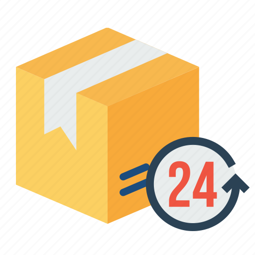 allday, box, delivery, logistic, pack, package, parcel icon