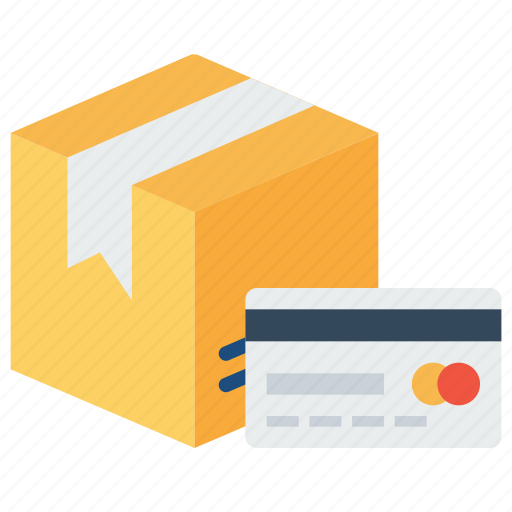 box, card, delivery, logistic, package, parcel, search icon