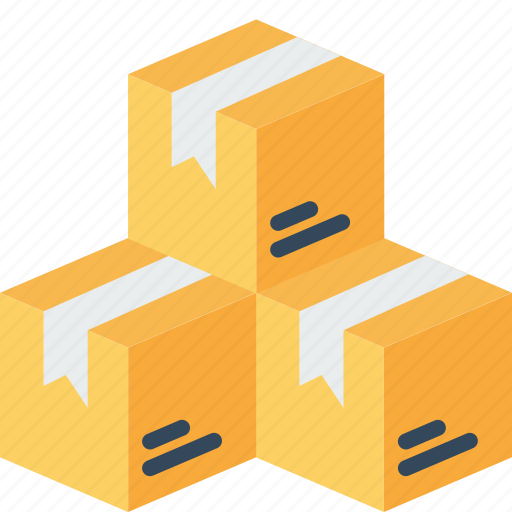 box, delivery, logistic, package, packed, parcels, shipping icon