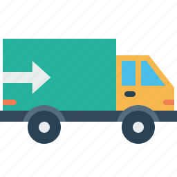 delivery, export, shipping, supply, transport, truck, vehicle icon