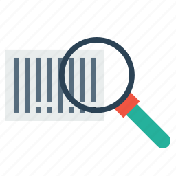 barcode, find, magnify, qrcode, scan, scanner, search icon