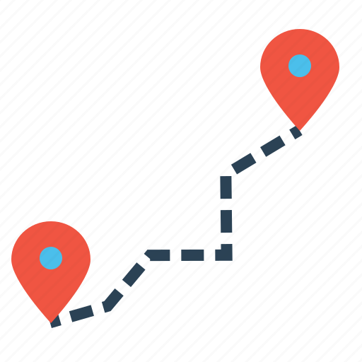 delivery, detaination, location, marker, navigation, pin, source icon