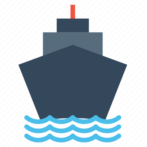 boat, container, deleivery, logistic, ship, transportation, vehicle icon