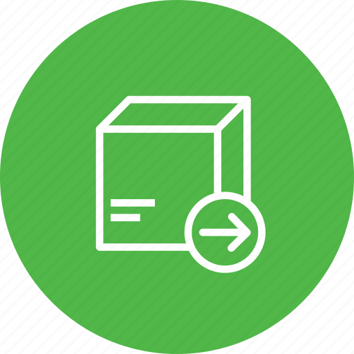 box, delivery, export, logistic, package, packed, parcel icon