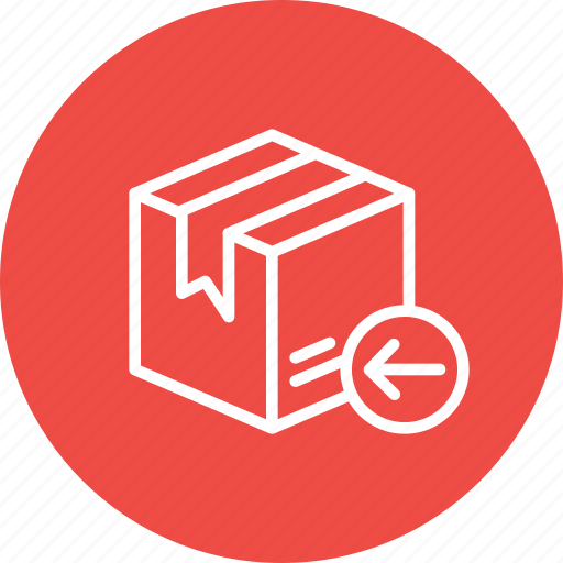 box, delivery, import, logistic, package, packed, parcel icon
