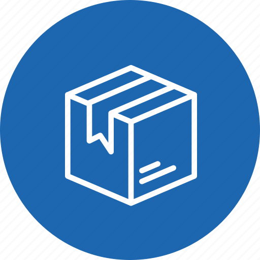 box, delivery, logistic, package, packed, parcel, shipping icon