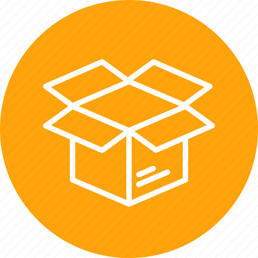 box, delivery, logistic, open, package, parcel, unpack icon