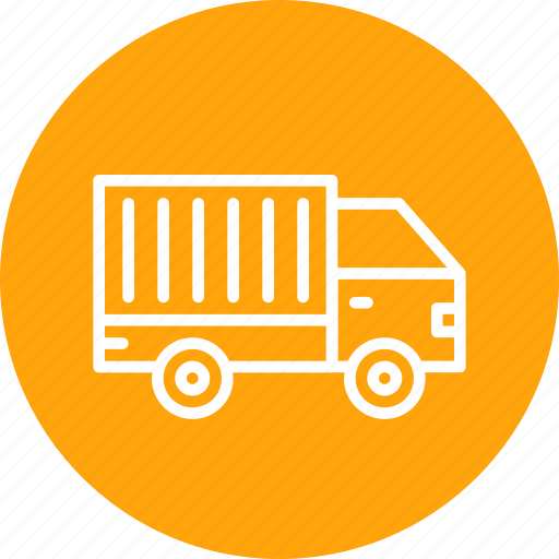 delivery, logistic, shipping, supply, transport, truck, vehicle icon