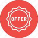 batch, discount, logistic, offer, parcel, ribbon, tag