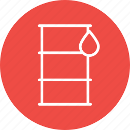 container, cylinder, delivery, export, logistic, oil, transport icon