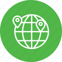 globel, international, location, logistic, transport, travel, world icon