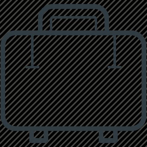 luggage, suitcase, travel bag, traveling, traveling bag icon