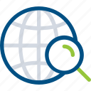 global, search, seo, web icon icon