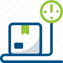 cargo, online, shop, weight, weight scale box icon icon