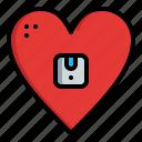 box, favorite, logistic, love, valentine, warehouse