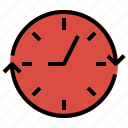 clock, round, round clock, time, watch icon