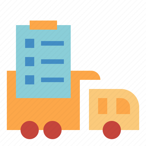 delivery, order, package icon