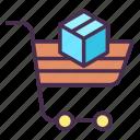 shopping, cart