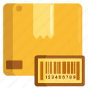 barcode, qr code, tracking, tracking code, tracking id icon