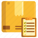 checking, checklist, quality assurance, quality control icon