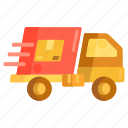 courier, delivery, frieght, logistics, shipping icon