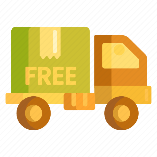 free, free delivery, free shipping, shipping icon