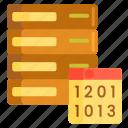 data, database, hosting, master, master data icon