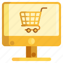 online, online grocery, online shopping, online store, shopping icon