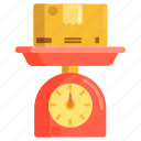 scale, weigh, weight icon