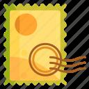 postage, postal, stamp icon