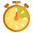 stopwatch, time, time tracker, time tracking, timelog, tracking icon