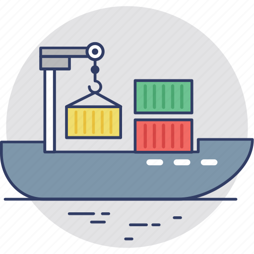Cargo, consignment ship, delivery, freight, shipment icon - Download on Iconfinder