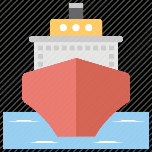 boat, cargo ship, cruise, sailing vessel, ship icon