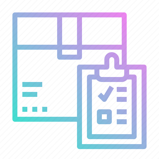 Box, clipboard, delivery, list, package icon - Download on Iconfinder